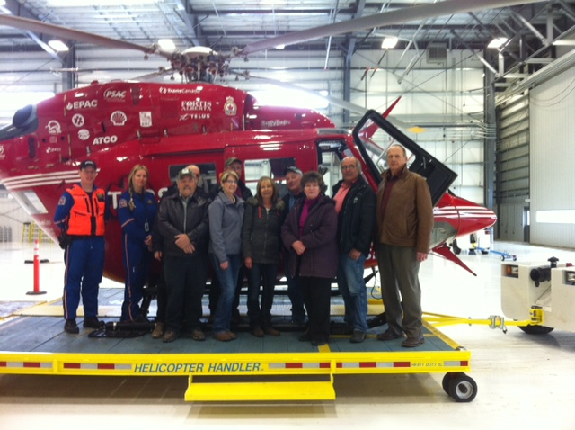 Members of Council Tour the Stars Facility